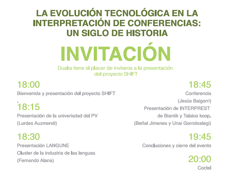 Programme of participatory event