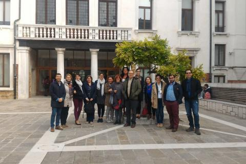 Project group in Venice